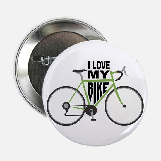 "I Love My Bike 2.25"" Button"