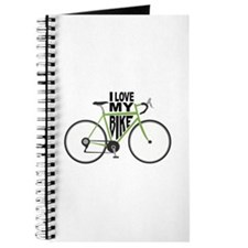 I Love My Bike Journal
