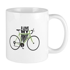 I Love My Bike Mugs