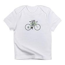 I Love My Bike Infant T-Shirt