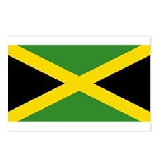 Jamaican Flag Postcards (Package of 8)