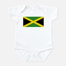 Jamaican Flag Infant Bodysuit