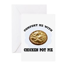 Comfort Chicken Pot Pie Greeting Cards (Package of