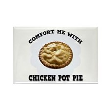 Comfort Chicken Pot Pie Rectangle Magnet