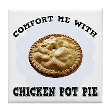 Comfort Chicken Pot Pie Tile Coaster