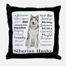 Unique Traits Throw Pillow