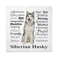 Cool Pets husky Queen Duvet