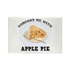 Comfort Apple Pie Rectangle Magnet
