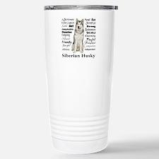 Unique Husky dog Travel Mug
