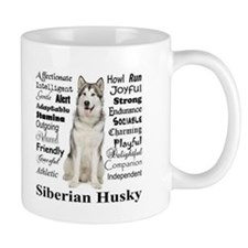 Husky Traits Mugs