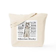 Funny Siberian Tote Bag