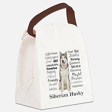 Cute Siberian Canvas Lunch Bag
