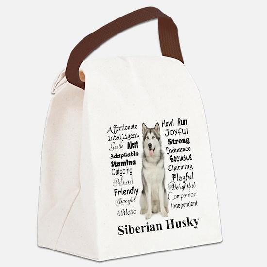 Cute Traits Canvas Lunch Bag