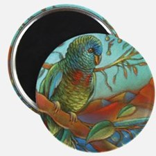 Tropical Parrot Magnets