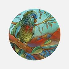 "Tropical Parrot 3.5"" Button (100 Pack)"