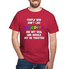 People don't like unicorns T-Shirt