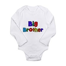 Little Big Sister Brot Long Sleeve Infant Bodysuit