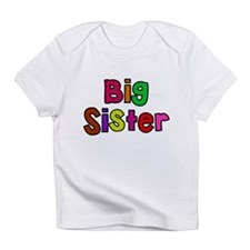 Little Big Sister Brother Infant T-Shirt