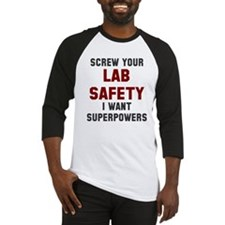 Lab Safety Superpowers Baseball Jersey