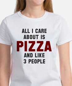 I care about pizza Women's T-Shirt
