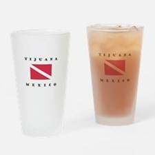 Tijuana Mexico Dive Drinking Glass