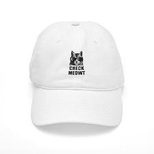 Check Meowt Baseball Cap
