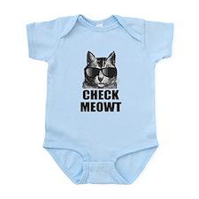 Check Meowt Onesie