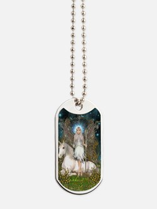 Crystal Fairy and Unicorn Dog Tags