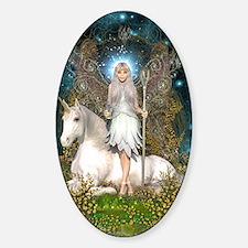 Crystal Fairy and Unicorn Decal