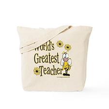 Teacher Bumble Bee Tote Bag