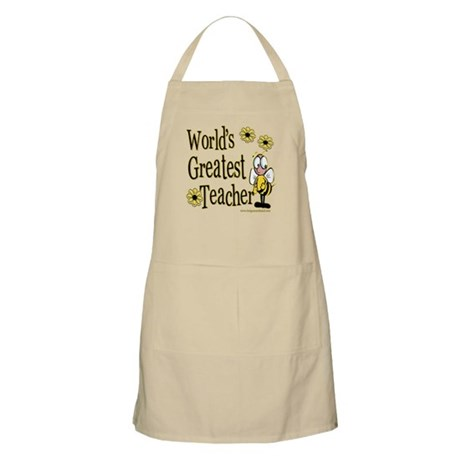 Teacher Bumble Bee BBQ Apron