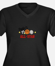 Daddys All-Star Plus Size T-Shirt