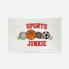 Sports Junkie Magnets