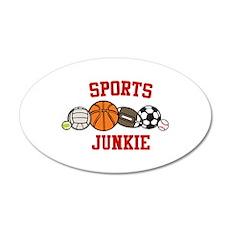 Sports Junkie Wall Decal