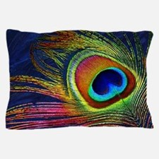Peacock Feather Pillow Case