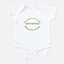 No Holiday Infant Bodysuit