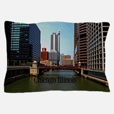 Chicago Illinois Pillow Case