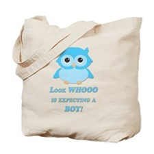 Owl Boy Baby Shower  Tote Bag