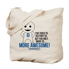 Community TV More Awesome Tote Bag