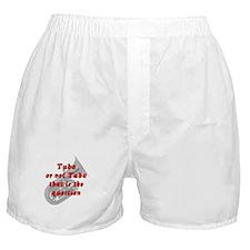 Tuba or not Tuba Boxer Shorts
