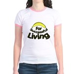 humorous banana Jr. Ringer T-Shirt