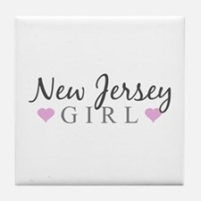 New Jersey Girl Tile Coaster