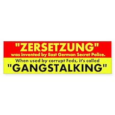 ZERSETZUNG Bumper Bumper Sticker