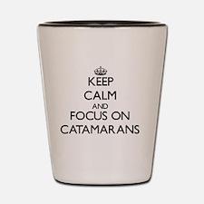 Keep calm carry Shot Glass