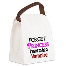 Forget Princess. I want to be a Vampire Canvas Lun