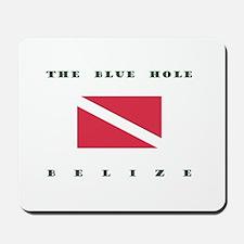 The Blue Hole Belize Dive Mousepad