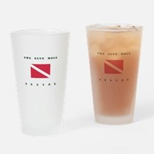 The Blue Hole Belize Dive Drinking Glass