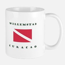Willemstad Curacao Dive Mugs