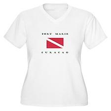 Port Marie Curacao Dive Plus Size T-Shirt