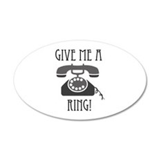 Give Me a Ring Wall Decal